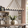 Bridge Brown Chandelier - EEI-2110-BRN