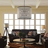 "Prosperity 34.5"" Chandelier - Brown - EEI-2115-BRN"