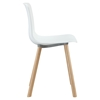 Sprung Dining Side Chair - White - EEI-215-WHI