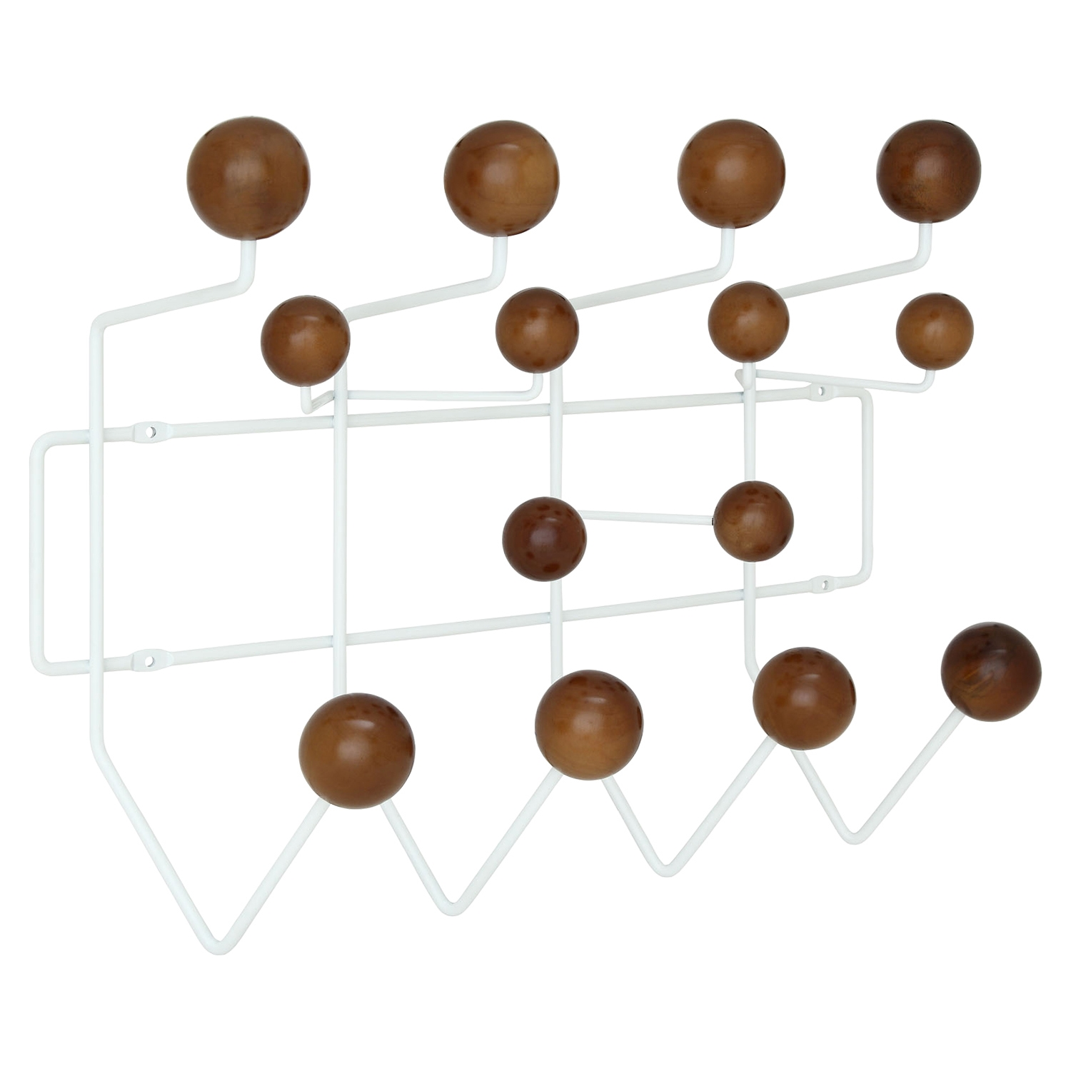 Gumball Coat Rack - Walnut - EEI-216-WAL