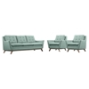 Beguile 3 Pieces Fabric Sofa Set - EEI-2184-SET