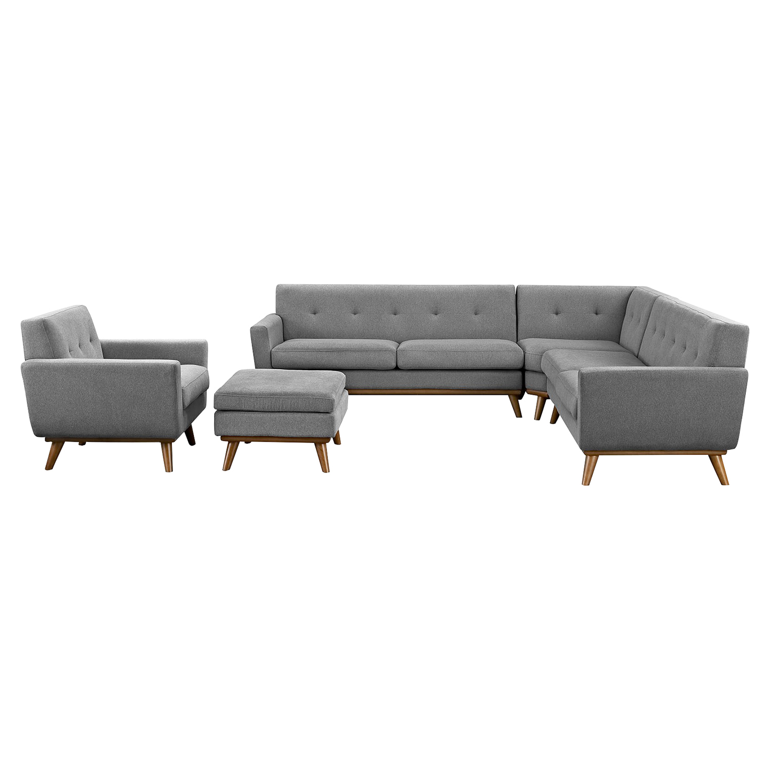 Engage 5 Pieces Sectional Sofa - EEI-2186-SET