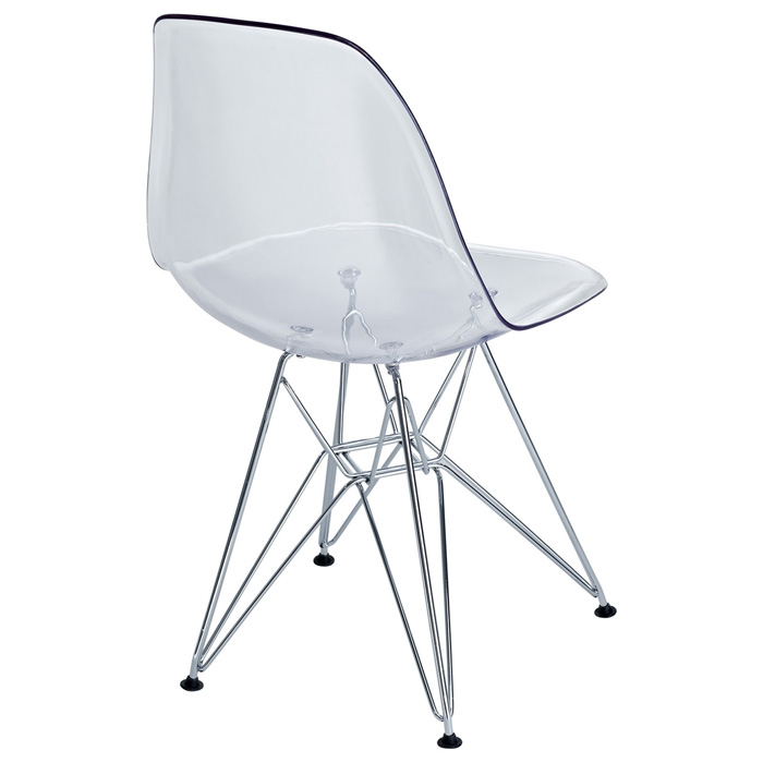 Eiffel Plastic Dining Chair Chrome Steel Base Clear  : eei 220 clr 3 from www.dcgstores.com size 700 x 700 jpeg 57kB