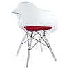 Pyramid Dining Armchair - Red - EEI-221-RED