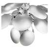 Bloom Chandelier - Silver - EEI-231-SLV