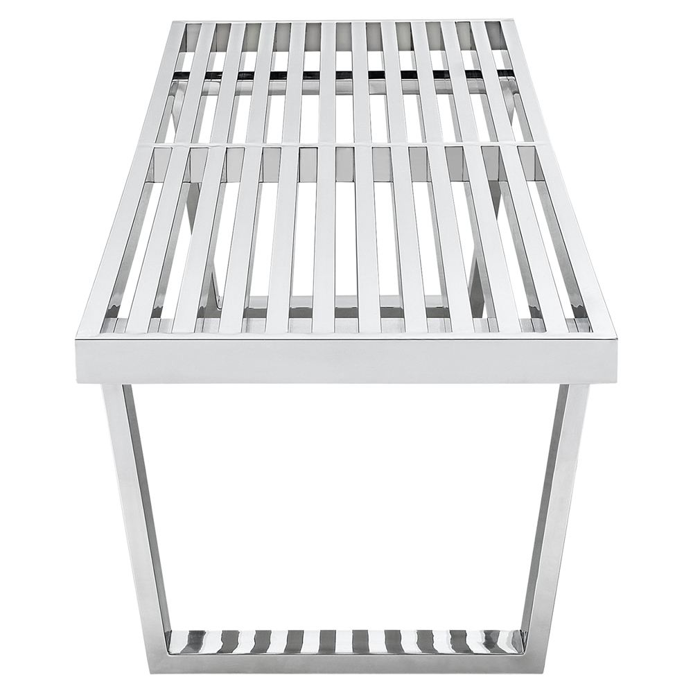 Sauna stainless steel bench dcg stores