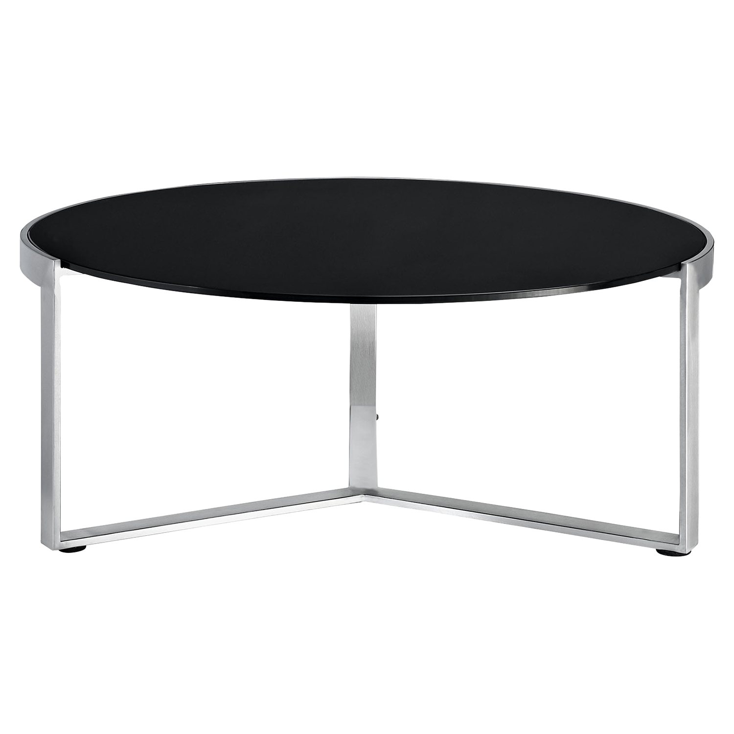 Disk Coffee Table - Black - EEI-256-BLK