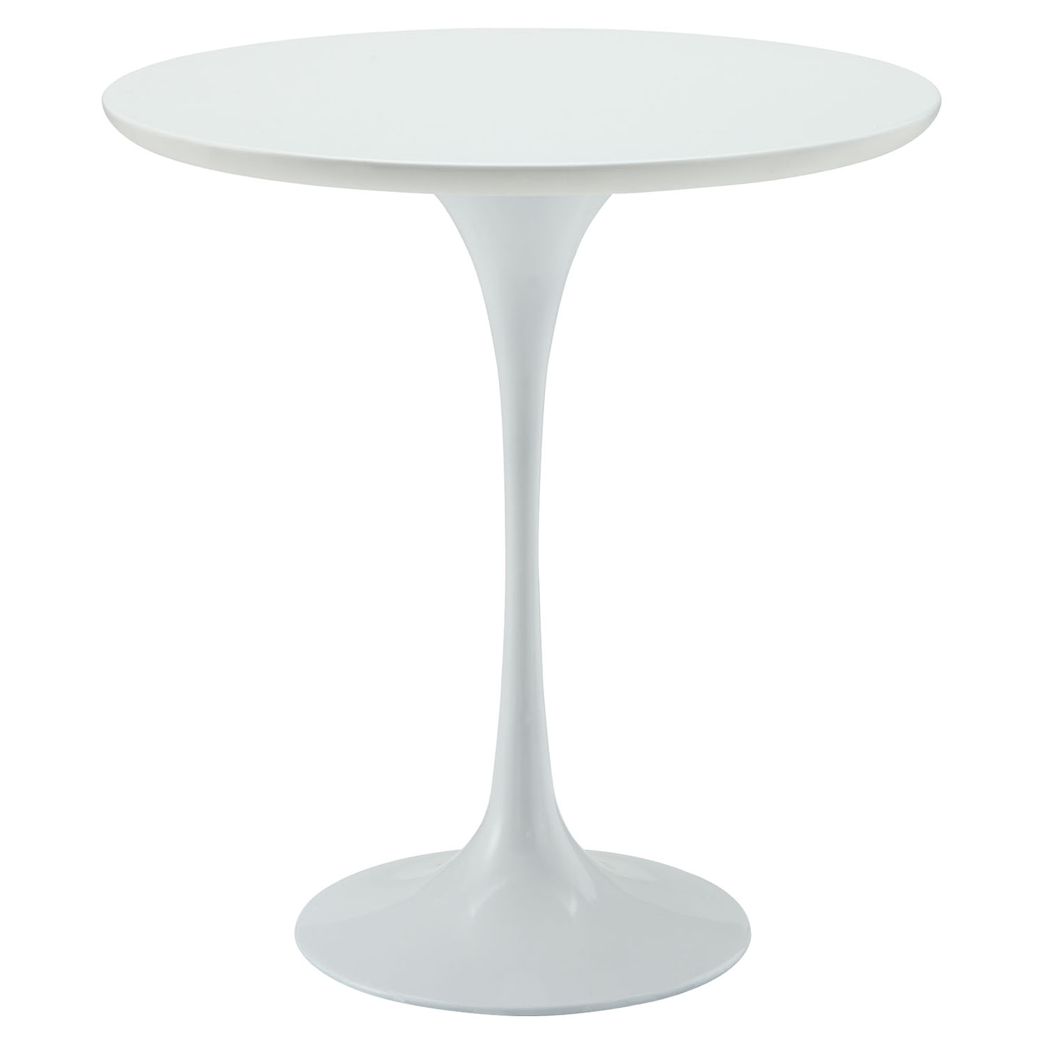 "Lippa 20"" Wood Side Table - White - EEI-271-WHI"