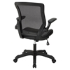Veer Leatherette Office Chair - Black - EEI-291-BLK