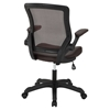 Veer Leatherette Office Chair - Brown - EEI-291-BRN