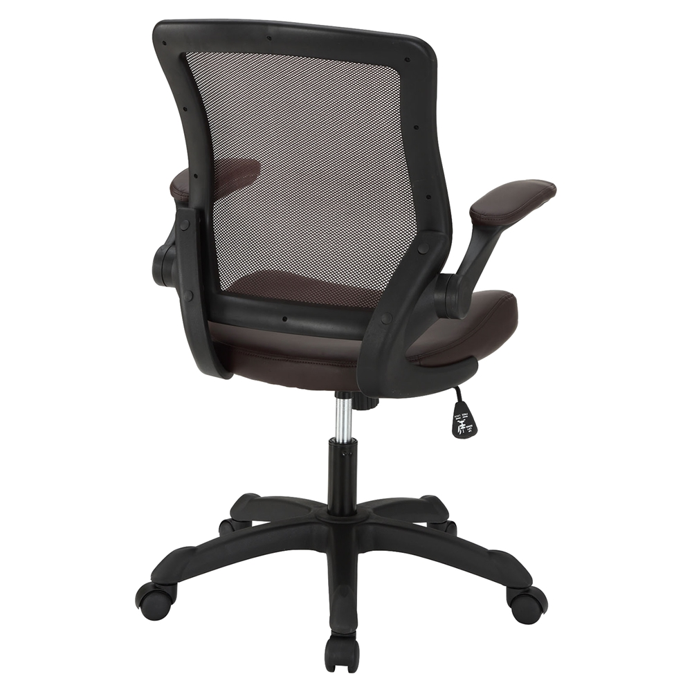 Veer Leatherette Office Chair Brown EEI 291 BRN