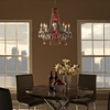 Palace Acrylic Chandelier - Multicolored - EEI-317