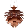 "Petal 19"" Contemporary Ceiling Light - Aluminum - EEI-505"