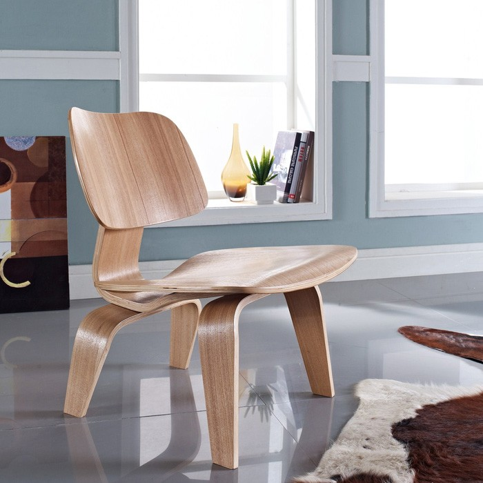 Molded Plywood Lounge Chair - EEI-510