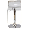 LEM Adjustable Height Clear Bar Stool - EEI-535-CLR