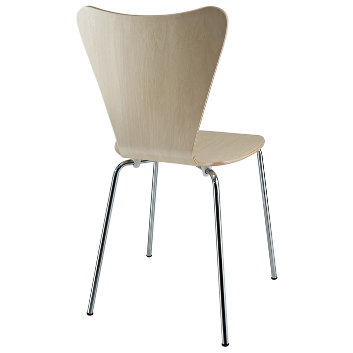 Arne Series 7 Molded Plywood Stackable Dining Chair - EEI-537