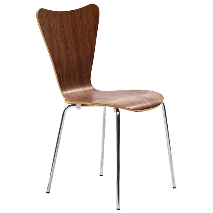 arne series 7 molded plywood stackable dining chair dcg stores