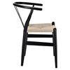Amish Dining Wood Armchair - Black - EEI-552-BLK