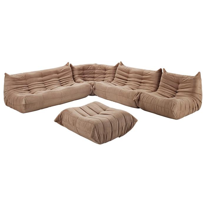 Downlow Sofa Set 5 Piece Set DCG Stores