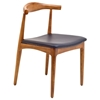 Tracy Kennedy Wood Dining Side Chair - EEI-559-BLK