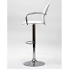 Captain Adjustable Bar Stool with Arms - EEI-582