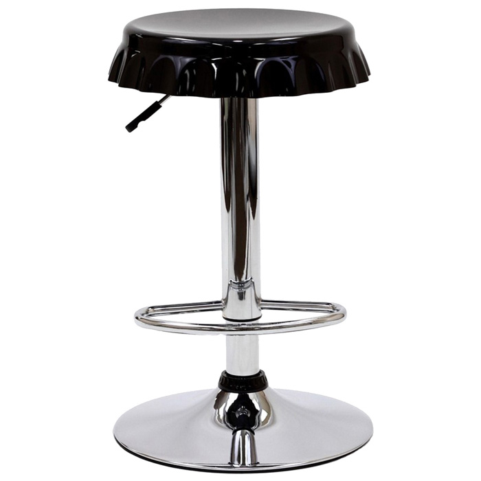 Soda Bottle Cap Metal Bar Stool - EEI-584
