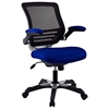 Edge Mesh Back Office Chair - Adjustable Height, Blue - EEI-594-BLU