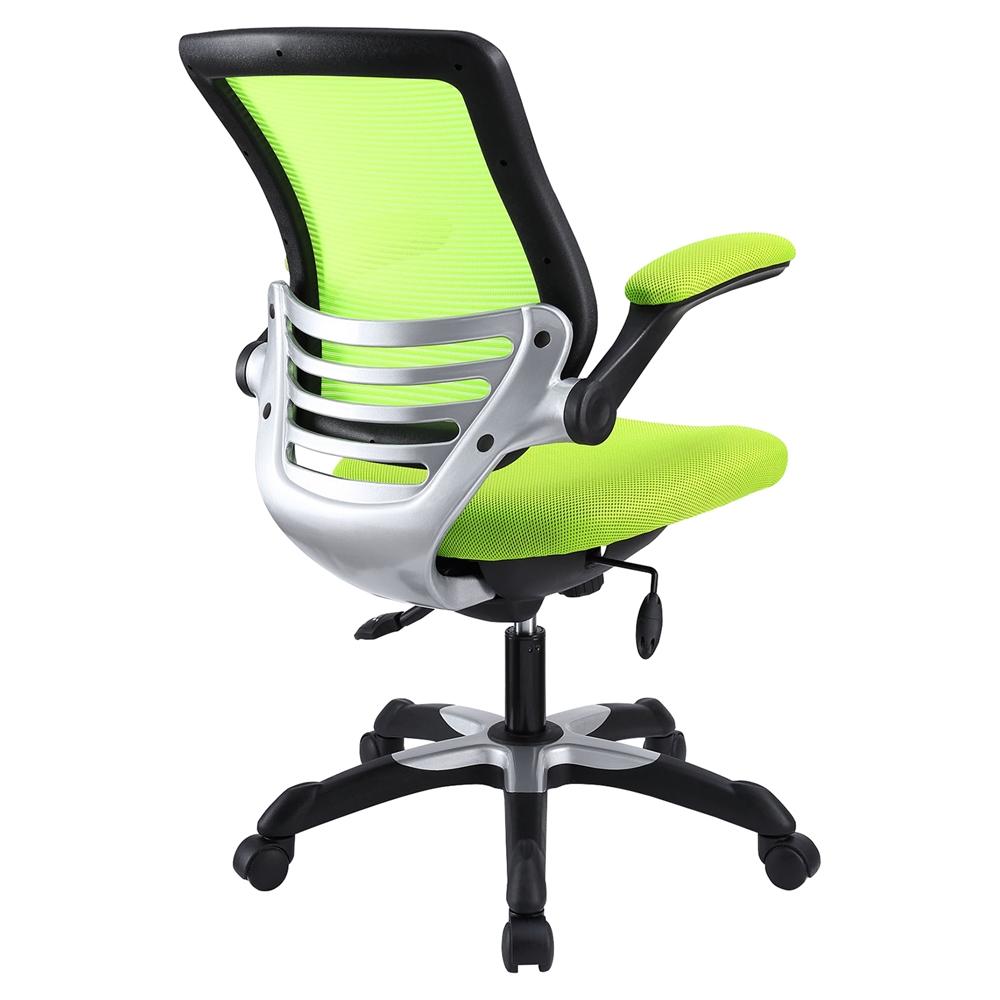 Edge Mesh Office Chair Adjustable Height Swivel Green