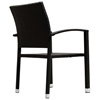 Bella Outdoor Wicker Dining Chair - Espresso - EEI-600-EXP