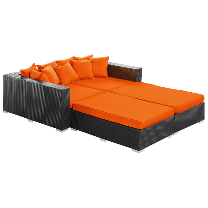 patio daybed cushions colonial outdoor daybed. Black Bedroom Furniture Sets. Home Design Ideas