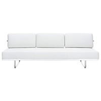 LC5 Modern Leather Daybed Sofa