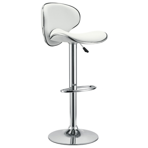 Fly Contemporary Adjustable Bar Stool