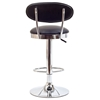 Retro Adjustable Swivel Bar Stool - Chrome Frame - EEI-636