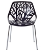 Stencil Stackable Plastic Chair - EEI-651