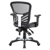 Articulate Faux Leather Office Chair - Black - EEI-755-BLK