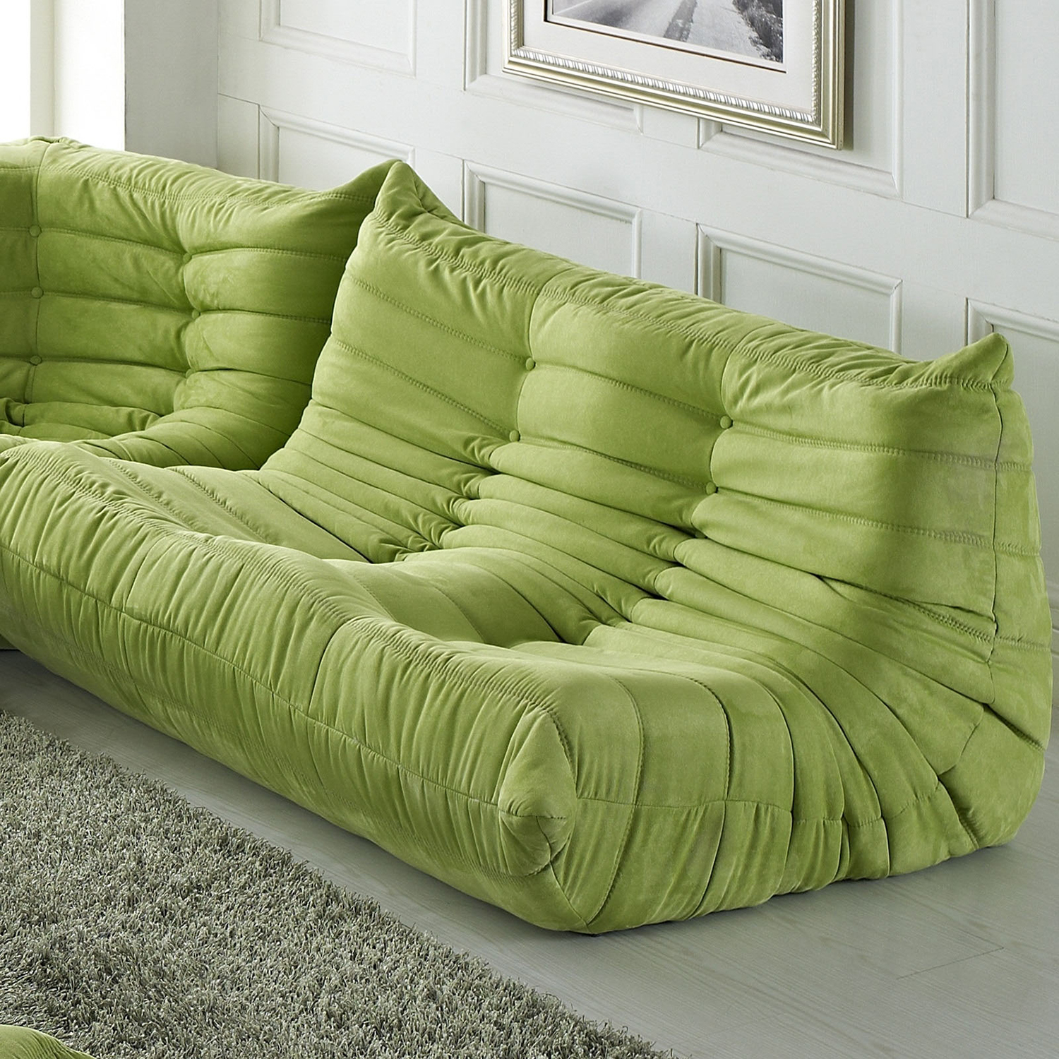 Waverunner Loveseat - Tufted - EEI-902