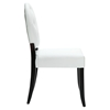 Button Dining Chair - White (Set of 2) - EEI-912-WHI