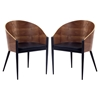 Cooper Dining Chair - Walnut (Set of 2) - EEI-915-WAL