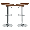 Bentwood Bar Stool - Oak (Set of 2) - EEI-936-OAK