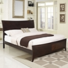 Elizabeth Queen Bed - Cappuccino - EEI-5001-CAP-SET