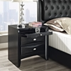 Harrison Nightstand - Black - EEI-MOD-5008-BLK