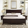 Elizabeth 3 Pieces Queen Bedroom Set - Cappuccino - EEI-5064-CAP-SET