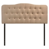 Annabel Button Tufted Fabric Headboard - EEI-515