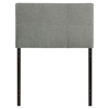 Oliver Twin Fabric Headboard - Gray - EEI-MOD-5152-GRY