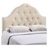 Sovereign Button Tufted Fabric Headboard - EEI-516