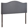 Curl Queen Nailhead Upholstered Headboard - EEI-5206