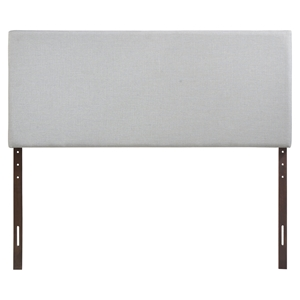 Region Upholstered Headboard - Sky Gray