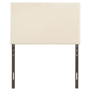 Region Twin Upholstered Headboard - Ivory