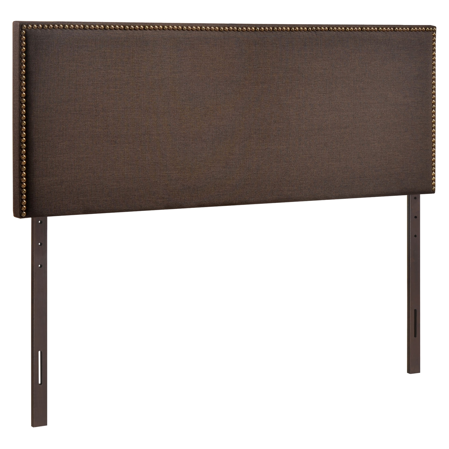 Region Queen Nailhead Upholstered Headboard - EEI-MOD-5215