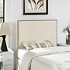 Region Twin Nailhead Upholstered Headboard - Ivory - EEI-5218-IVO